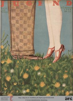 Jugend, German illustrated weekly magazine for art and life, Volume 33, 1928.