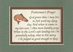 Fisherman Prayers Verses Poems Fishing Fish Rod Plaques   eBay