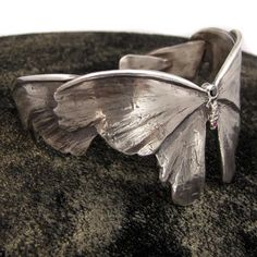 Moth Cuff by Nancy Edwards