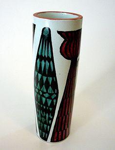 Stig Lindberg, Gustavsberg, SE c. 1950 Stig Lindberg, Pottery, Vase, Mugs, Tableware, Home Decor, Finland, Denmark, Norway