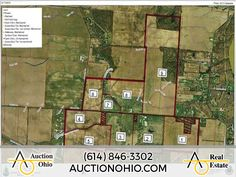 Multi-Parcel Auction: 465± acres in 9 Parcels located in Delaware, OH! The auction for this great farm many different potential uses takes place on Saturday, October 24th, 2015 @ 10:00 AM at the Delaware Area Career Center. Please visit www.AuctionOhio.com for more photos & information! #realestate