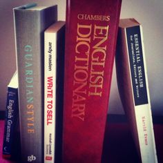 Essential books for writers and editors. What's on your shelf?  #books #writing