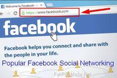Popular Facebook Social Networking Website