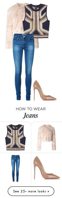"""Friday Fit"" by carlafashion-246 on Polyvore featuring Christian Louboutin, RED Valentino and Vero Moda"