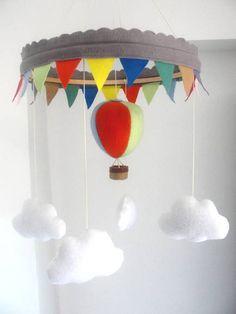 Móbile de Balão | Erê Pererê | 348DAD - Elo7