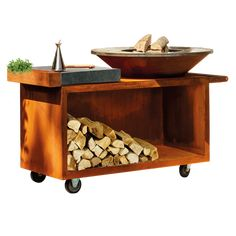 Fire Pit Bbq, H Design, Kitchen Cart, Bbq Ideas, Barbacoa, House, Outdoor, Exterior, Space