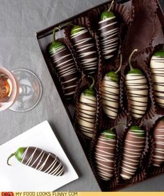 Happy Valentines Day! I got you... Chocolate covered jalapenos...