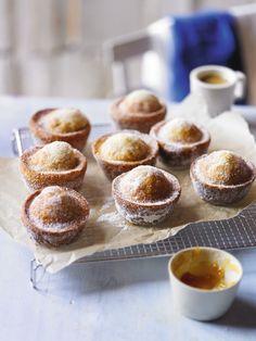 Apricot and Vanilla Doughnut Muffin