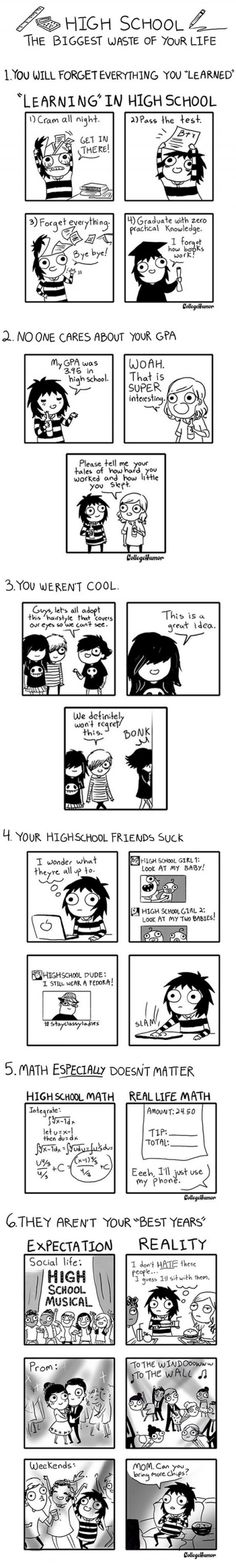 New Funny Cartoons Humor Comics Sarah Andersen Ideas College Humor, School Humor, Funny School, Funny College, Cute Comics, Funny Comics, Laura Lee, Sarah Andersen Comics, Sarah's Scribbles
