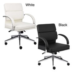 Boss Contemporary Mid-back Executive Chair - Overstock™ Shopping - The Best Prices on Boss Executive Chairs