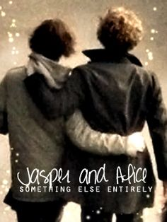 well, something I made out of boredom. ^^ Alice and Jasper, yeah. Jasper and Alice, again. Jasper Twilight, Twilight Saga, Alice And Jasper, Jackson Rathbone, Twilight Pictures, Making Out, Lamb, Harry Potter, Fan Art
