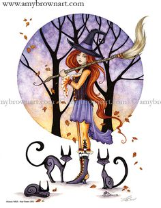 PRINTS - Little Witch Prints - Amy Brown Fairy Art - The Official Gallery