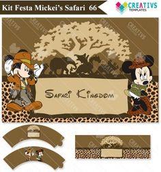 Festa Mickey e Minnie Safari mod:66