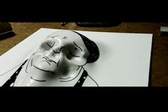 i Fantasmi di GianMaria Pizzi intrappolati nei disegni di Andrea Bovaia (work in progress)