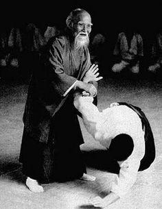 Morihei Ueshiba Aikido kaiso