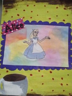Alice in wonderland i drew one of my bests please please please(COMMENT REPIN LIKE) by: MARISSA