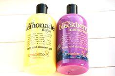 Treacle moon bath and shower gel lemon