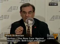 Immigration author Mark Krikorian explains why Black people are not considered American. Video by BookTV C-Span2