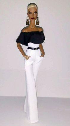 Shared by Carla Barbie Gowns, Doll Clothes Barbie, Barbie Dress, Fashion Royalty Dolls, Fashion Dolls, Fashion Outfits, Barbie Fashionista, Decoration Chic, Diva Dolls