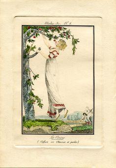 Modes et manières du jour -1808 - plate no. 8