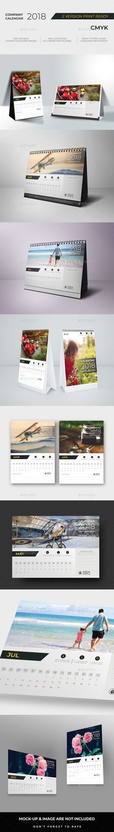 Wall Calendars — Photoshop PSD #design #2018 Calendar • Available here ➝ https://graphicriver.net/item/wall-calendars/21004760?ref=pxcr