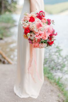 This pink and coral toned bouquet was designed for @momentsbymadeleine who had her own engagement photos taken by @juliacvona at #morainelake in July. This garden style, handtied bouquet includes pink anemones, ranunculus, asters, yarrow, stock and orlaya. #morainelakeengagement #morainelakewedding #engagementbouquet #pinkbouquets #pinkranunculus #butterflyranunculus #coralanemones #banffnationalpark #gardenstylebouquet #calgaryflowers #weddingflowerscalgary #flowersbyjanie #orlaya… Flower Girl Bouquet, Pink Bouquet, Bridesmaid Bouquet, Wedding Bouquets, Anemones, Ranunculus, Engagement Session, Engagement Photos, Floral Wedding