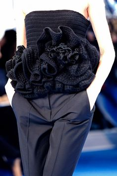 Crochet haute couture-christian dior