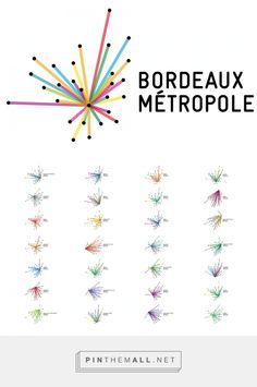 Bordeaux Métropole : 1 système et 28 logos  http://etapes.com/bordeaux-metropole-1-systeme-et-28-logos