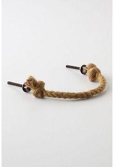 pliant jute rope handles, would look great of the bathroom vanity