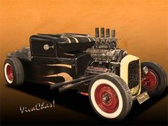 Rat Rod Love is all about How Ur Brain is Wired into the Hot Rod World of Street Rods, Rat Rods, Old School, New School and much more - it's a love story as told by ~:0) VivaChas!