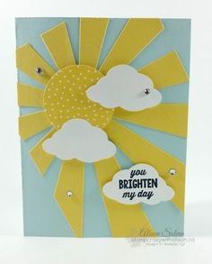 Sunburst Sayings Sunburst Thinlits Die www.stampcrazywithalison.ca