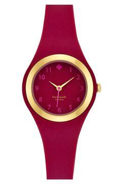 kate spade new york 'rumsey' plastic strap watch, 30mm | Nordstrom