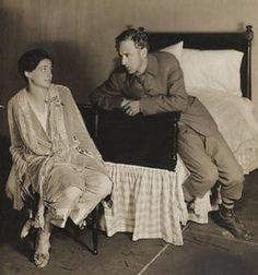 Frieda Inescort and Leslie Howard in John Galsworthy's Escape, Booth Theatre, New York, October 26, 1927