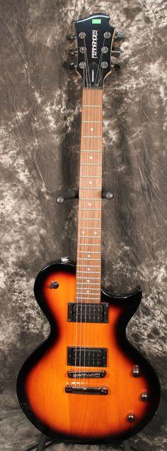 2010 Fernandes Monterey X Electric Guitar Sunburst