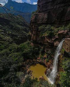 caños de las iguanas en santander Waterfall, River, World, Places, Outdoor, Instagram, Colombia, Trekking, Outdoors