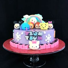 No kids can resist the cuteness of Tsum Tsum Jelly Cake, which is the perfect Designer Cake For Kids in Malaysia KL. Agar Agar Jelly, Jelly Cake, Fruit Food, Cake Knife, Coconut Milk, Cake Designs, Cake Decorating, Pudding, Cupcakes