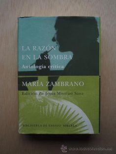 El primer café del viernes es para María Zambrano.
