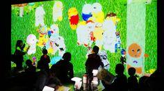 常設店舗「チームラボアイランド 学ぶ!未来の遊園地-」ららぽーと富士見(埼玉)に、期間限定で「お絵かきふなっしー」を展示。お披露目会(2/27)には、ふなっしーも来場。2016/2/28~3/5