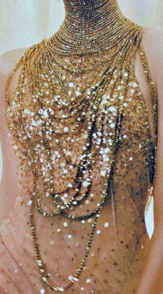 gold glitter!!  LadyLuxury