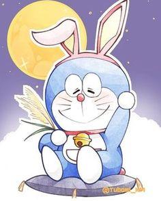 Doraemon by Tubomi Dora Wallpaper, Chibi Wallpaper, Cartoon Wallpaper Hd, Cute Panda Wallpaper, Kawaii Wallpaper, Doremon Cartoon, Cartoon Posters, Cute Cartoon Pictures, Cute Love Cartoons