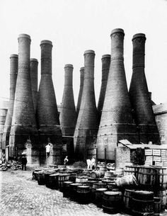 Stoke Museums - Bottle ovens