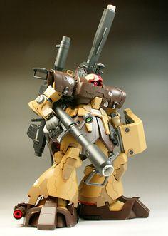 GUNDAM GUY: 1/100 MS-09F/DTP06 Dom Tropen [The Maximum Full Equipment Type] - Customized Build