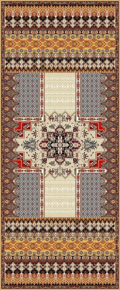 Digital Textile Designes on Behance Textile Patterns, Textile Prints, Textile Design, Print Patterns, Textiles, Pattern Library, Pattern Art, Indian Prints, Border Design