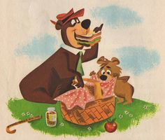 """The Yogi Bear Show"" a cartoon show with Yogi & Boo-Boo , a Hanna -Barbera cartoon.my husband's favorite show. Vintage Cartoons, Classic Cartoons, Hanna Barbera, Nostalgia, Cartoon Photo, Saturday Morning Cartoons, My Childhood Memories, Childhood Movies, The Good Old Days"