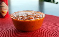 Mike's Roasted Pepper Inferno Tomato Habanero Sauce Recipe this would be great in lazana
