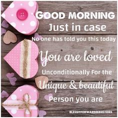 Good morning wave beautiful peoples, just a reminder this morning, to let you know how loved you are by God 💕☺️ Good Morning Beautiful Quotes, Good Morning My Love, Good Morning Inspirational Quotes, Good Morning Images, Good Morning Quotes, Night Quotes, Positive Morning Quotes, Morning Greetings Quotes, Good Morning Messages