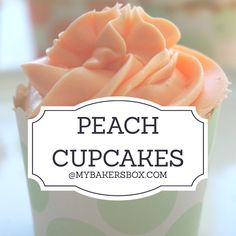 Trying to hold on to the last of Summer!  Our Peach Cupcakes are #ontheblog!  🍑☀️ #peach #peachcupcakes #peaches #bakingsubscription #madewithmybakersbox #mybakersbox #bakebox #bakersbox #subscriptionbox #gift #recipes #baker #bake