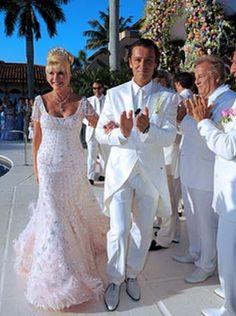 Red Carpet Wedding: Ivana Trump and Rossano Rubicondi ~ Red Carpet Wedding