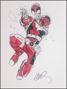 Deadpool by Humberto Ramos                                                                                                                                                                                 More
