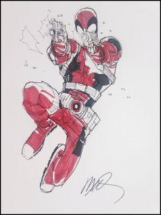 Deadpool by Humberto Ramos